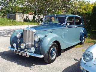 1950s Bentley mk.VI H.J. Mulliner Saloon