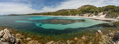 Plage Colombiaggia, Corsica (stshank) Tags: corsica france mediterraneansea plagecolombiaggia panorama travel