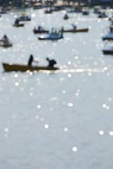 Impression (Otaka*) Tags: park reflection water sunshine june japan boat spring pond bright bokeh may