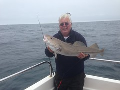 "Roy Shipway with another nice Cod caught on Alice Rose • <a style=""font-size:0.8em;"" href=""http://www.flickr.com/photos/113772263@N05/18070100471/"" target=""_blank"">View on Flickr</a>"