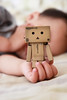 20150527-IMG_9346 (Mika x 米卡) Tags: cute canon toy sleep ryder 可愛 danbo 睡覺 50d eos50d canon50d danboard ダンボー 阿愣 紙箱人