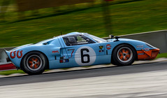 Ford GT40 in Turn 5 (speedcenter2001) Tags: cars ford wisconsin vintage gulf racing historic mans le roadamerica elkhart motorsports gt40 vintageracing mk1 elkhartlake roadcourse nikon300mmf45edifai