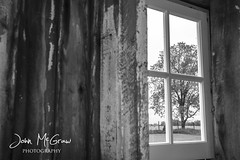 Michigan Barn (johnmcgrawphotography) Tags: windows blackandwhite barn michigan farm pure trres