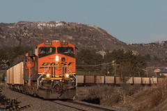 Northbound BNSF at Sedalia (Michael Karlik) Tags: mountain train colorado hill front line coal range freight bnsf joint sedalia