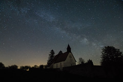 Milkyway over abandoned church (marcokusch-fotografie) Tags: sky church night stars nice nacht sony kirche himmel awsome nightsky alpha highiso sterne milkyway langzeitbelichtung longtime schn nachthimmel lzb milchstrase