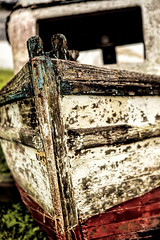 Seaworthy (Scosanf) Tags: trip travel abandoned gulfofmexico water canon eos bay boat marine texas dof bokeh decay depthoffield ef2470mmf28lusm seabrook kemah 6d topazclarity