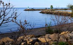 Lake Ontario shore (robinkrumins) Tags: shipwreck jordan jordanharbour water ontario canada scenic rust ruins lagrandehermine lake lakeontario lakeshore