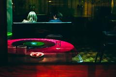 Midnight. (elsableda) Tags: reflection colors shop night southafrica restaurant long exposure haunting dreamy johannesburg joburg