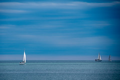 A Blue Moment (NathalieSt) Tags: mer france boat frankreich europa europe sailing bateau francia voilier languedocroussillon hrault lagrandemotte
