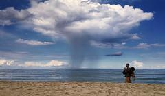 All clouds bring not rain... (4eye) Tags: cloud weather poland polska jastarnia 4eye