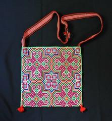 Huichol Embroidered Bag Mexico (Teyacapan) Tags: mexico needlework embroidery sewing crafts jalisco mexican purse bags bolsas huichol bordados morral