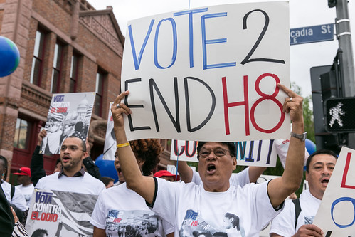 Vote 2 End H8 March for Action - May 5, 2016