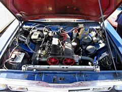 the 16 valve 2 Litre engined 1982 Morris iTAL (John(cardwellpix)) Tags: uk corner estate sunday may surrey morris 20 guildford 8th newlands 2016 ital engined 198283 2litre alburymerrow