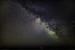 The Milky Way in France. (Daniel Vaiman) Tags: sky mars beach way stars sigma nightsky saturn 20mm universe milky ste milkyway milchstrasse sigma2020mm milky20way southern20france night20photo