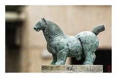 bronze_horse (alamond) Tags: sculpture horse art fountain statue bronze canon is contemporary 7d l usm ef mkii marki 70300 brane llens f456 alamond vodopivec zalar