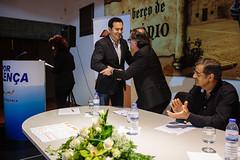 Luís Montenegro em Valença