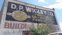 D.P. Wigley ghost sign - Racine WI (happily Evan after) Tags: building sign mural paint image painted ghost ad seed advertisement oil fertilizer feed product wi materials racine wigley dpwigley