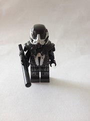Chronos (Legends of Tomorrow) (Dehroguesfanboy) Tags: dc lego legends hunter tomorrow bounty minifigure chronos purist