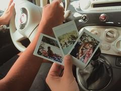 Memories (camillaanselmi) Tags: bobbio fiat500 fiat italiancar boyfriend boy girl fujifilminstax fujifilm instax piacenza italian amazing italy