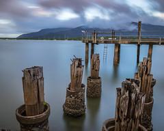 Cairns Wharf (BTAdelaide) Tags: cairns queensland australia longexposure sunset ocean landscape seascape seaside