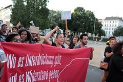 Black Lives Matter- Demo in Berlin, Juli 2016 (bsdphoto) Tags: demonstration protest demo berlin politik blacklivesmatter rassismus solidaritt schwarze blackcommunity peopleofcolor farbige oranienplatz kreuzberg erhobenefaust kmpferisch deutschland deu