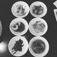 @thatjennlee - #birthday forever! #korean #food #nomnomnom (the whitness) Tags: instagramapp square squareformat iphoneography uploaded:by=instagram moon
