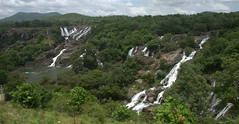 Barachukki Falls Panorama (VinayakH) Tags: barachukkifalls shivanasamudram karnataka india kaveririver river waterfalls chamarajanagar