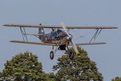 Hawker Demon - Old Warden Edwardian Padgeant 2016 (harrison-green) Tags: gister old warden shuttleworth collection air show airshow 2016 edwardian pageant aircraft aviation world war 2 two ii display shgp steven harrisongreen photography canon eos 700d sigma 150500mm 18250mm de havilland comet racer plane race grosvenor house mew gull outdoor vehicle airplane tiger 9 nine moth biplane trainer jet miles magister glider fauvel av36 airliner hawker demon