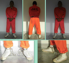 I.T. Crime - prison intake (asiancuffs) Tags: shackles sneaker handcuffs arrested arrest prisoner inmate shackled handcuffed