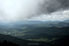 Head in the Clouds (Photographybyjw) Tags: head clouds this is view from 1 mile us up mountain blue ridge chain north carolina photographybyjw high mountains rural scenic colr country foliage storm clean fresh air