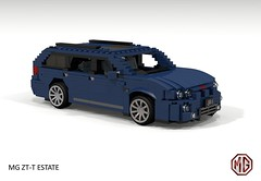 MG ZT-T Tourer (lego911) Tags: mg zt ztt tourer v8 260 estate wagon auto car moc model miniland lego lego911 ldd render cad povray uk england english rover group ford modular lugnuts challenge 106 exclusiveedition limited exclusive special edition foitsop