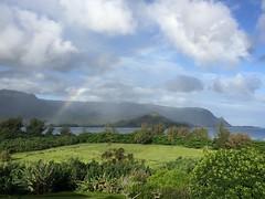 Rainbow, Hanalei bay (stevehuang7) Tags: kauai princeville rainbow hanaleibay hawaii