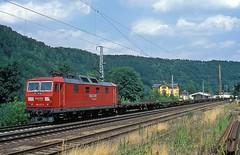 180 017  Knigstein  25.07.06 (w. + h. brutzer) Tags: knigstein eisenbahn eisenbahnen train trains deutschland germany elok eloks railway lokomotive locomotive zug 180 dr db 230 webru analog nikon