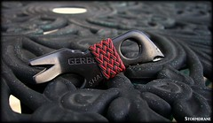 Gerber Shard with red/black gaucho knot (Stormdrane) Tags: stormdrane gerber shard multitool prybar bottleopener screwdriver standard philips phillips wirestripper nailpuller stapleremover gaucho knot turkshead variation 09mm cord string black red sharpie tie braid weave marlinspike keychain keyring edc everydaycarry hiking camping backpacking fishing boating sailing scouting military beprepared useful decorative georgia bulldog atlanta falcons hobby craft diy make gift
