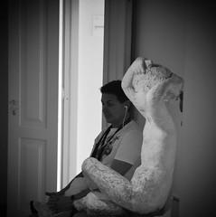 Stanco (Colombaie) Tags: flickraward omogirando visita guidata visite guidate gay friendly lgbt turismo cultura omosessuali omosessuale eterosessuali insieme integrazione tempolibero divertirsi amici arte museo musei villatorlonia roma nomentana antoniettaraphaël scuolaromana scuoladiviacavour novecento scultura ritratto uomo maschio enzo stanco seduto assente bn