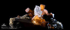 Topacio con Hialita (Mr Giuseppe) Tags: mineral minerales geologia mineralogia rocas rocks crystals geology mineralogy
