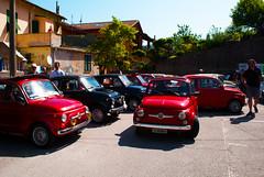 Un sacco di Fiat 500 (maximilian91) Tags: italy italia fiat liguria oldcars vintagecars fiat500 abarth italiancars montoggio fiat500abarth