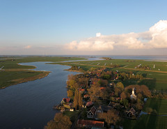 Holysloot Waterland (1) (de kist) Tags: netherlands die aerial waterland holysloot holysloter