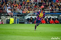 Leo Messi - Semifinals de Champions League: F.C. Barcelona Vs. Bayern Mnchen (Marc Puig i Prez) Tags: barcelona camp sports mnchen bayern la football leo soccer lionel futbol bara fcbarcelona league nou champions pulga messi esports semifinals