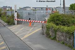 Reilly's Crossing, 8/5/15 (hurricanemk1c) Tags: irish train gm rail railway trains railways irishrail generalmotors 084 2015 emd 071 iarnrd ireann rpsi iarnrdireann railwaypreservationsocietyofireland reillyscrossing thestrandrailtour