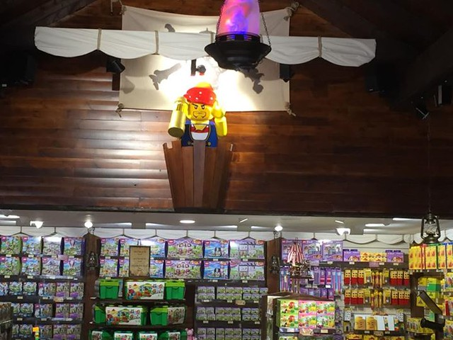 Inside the Lego Shop - 2015