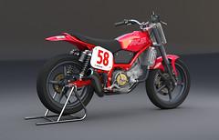 Ducati Scrambler R/T (xyzr) Tags: street bike engine racer motorcycleframe roadracing flattrack fourstroke 350cc cheetah3d ducatiscramblerrt