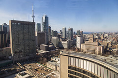 View from the City Hall Observation Deck (suesthegrl) Tags: toronto festival architecture buildings cityhall april observationdeck 2014 doorsopen specialevent doorsopentoronto doorsopento