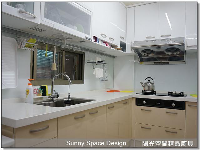 廚具│廚具大王│陽光廚具-桃園桃一路曾小姐L型廚具-陽光空間精品廚具