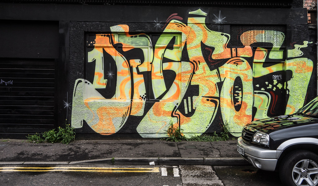 Street Art In Belfast [May 2015] REF-104685