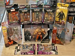 Recent Arrivals  More Action Figures!  Marvel, NECA & DC Direct  29 May 2015 (My Toy Museum) Tags: dc ranger jane action foster galaxy figure batman lone arrival marvel bane recent direct arrivals select guardians groot neca ultron arkham