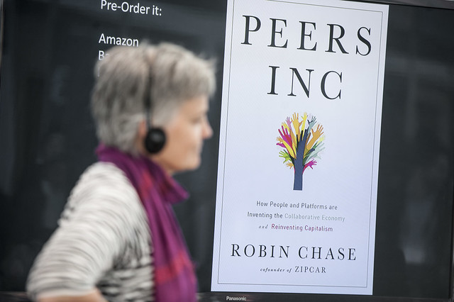 Author Robin Chase presents her book