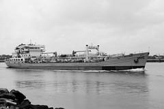 Red Hook (sldrukman76) Tags: nyc ship maritime statenisland redhook channel wastedisposal