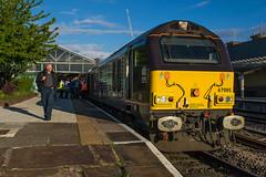 67_005_Chester_09_05_15 (chrisbe71) Tags: chester railtour charter dbs ews class67 67005 dbschenker queensmessenger 1z43 statesmanrail settlecarlislestatesman