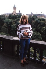 Luxembourg   -   Luxembourg City   -   Jessica    -    September 1989 (Ladycliff) Tags: luxembourg luxembourgcity jessica